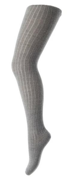 Bilde av strømpebukse mp bomull ribb