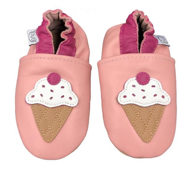 Bilde av Tøffel iskrem rosa panda feet
